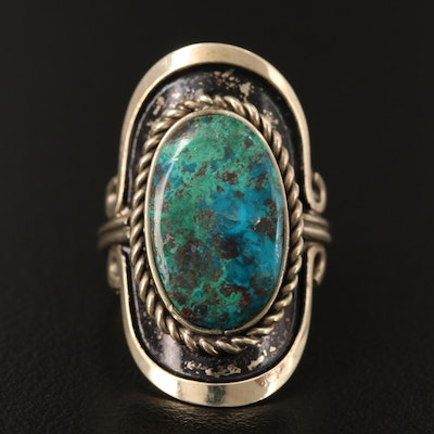 Eilat Stone Pointer Ring