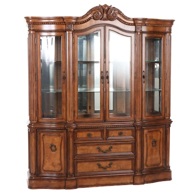 """Universal Furniture """"Del Mar"""" Sideboard with Display Cabinet"""