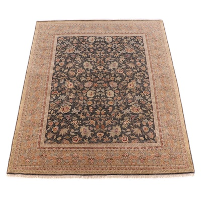 8'1 x 10'1 Hand-Knotted Indo-Persian Mahal Wool Rug for The Rug Gallery