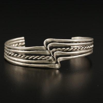 Multi-Wire Cuff Bracelet