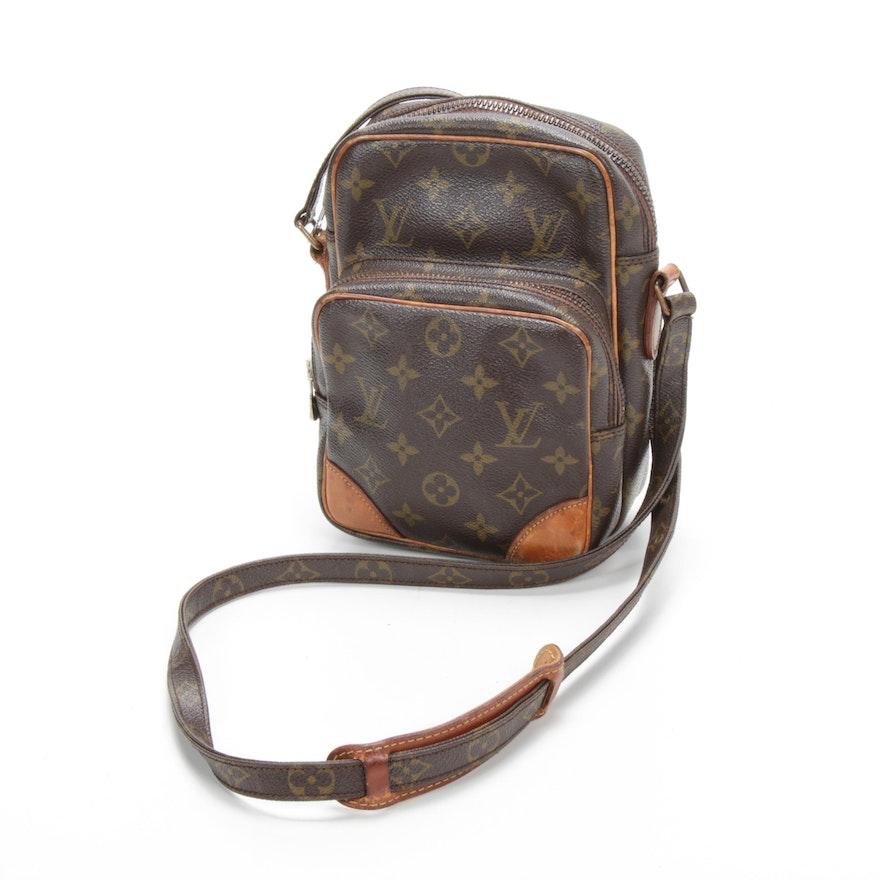 Louis Vuitton Amazone Crossbody in Monogram Canvas and Vachetta Leather