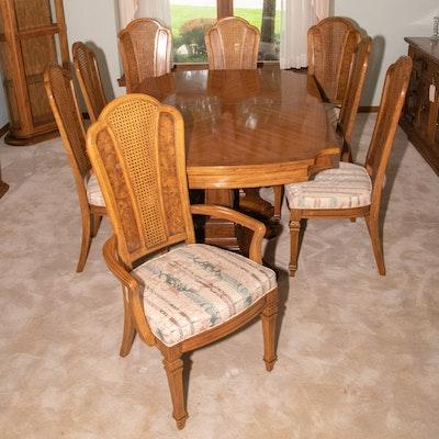 Thomasville Pecan Dining Set