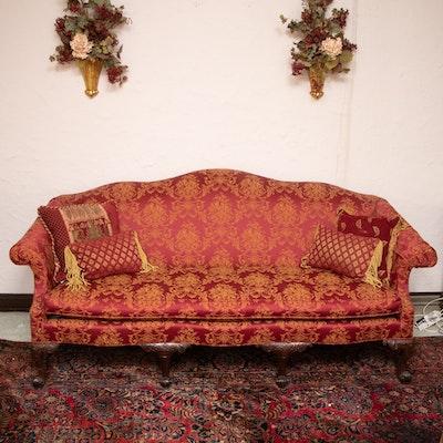 George III-Rococo Style Upholstered Sofa