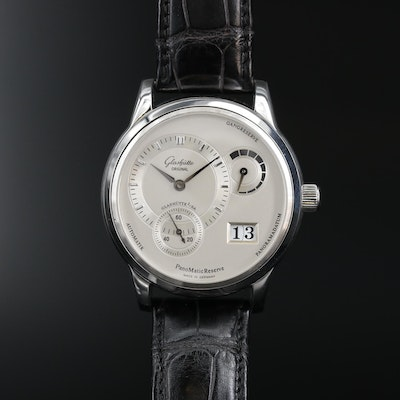 Glashütte Original Panomatic Reserve Stainless Steel Automatic Wristwatch