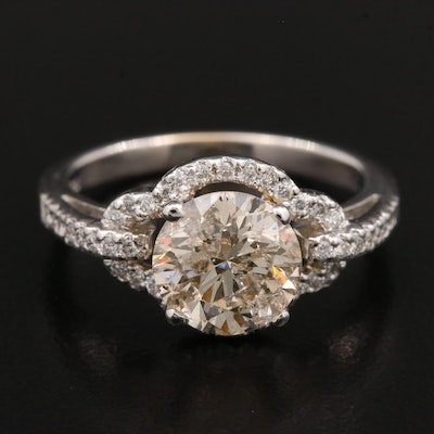 18K Gold 2.31 CTW Diamond Ring