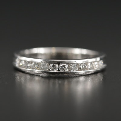 10K White Gold 0.48 CTW Diamond Band