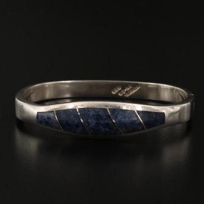 Sterling Silver Sodalite Bracelet