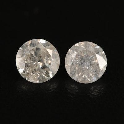 Loose 1.20 CTW Diamonds