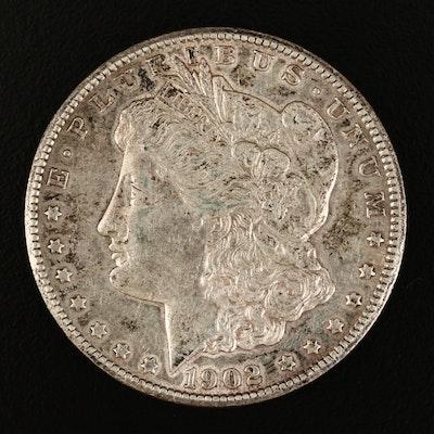 Better Date 1902-S Morgan Silver Dollar