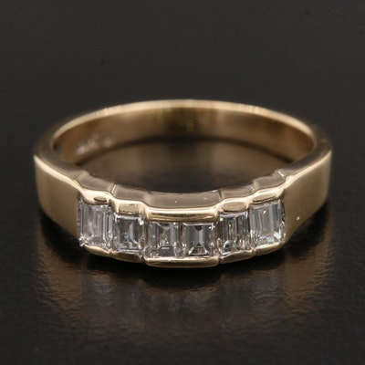 14K Yellow Gold 0.50 CTW Diamond Ring