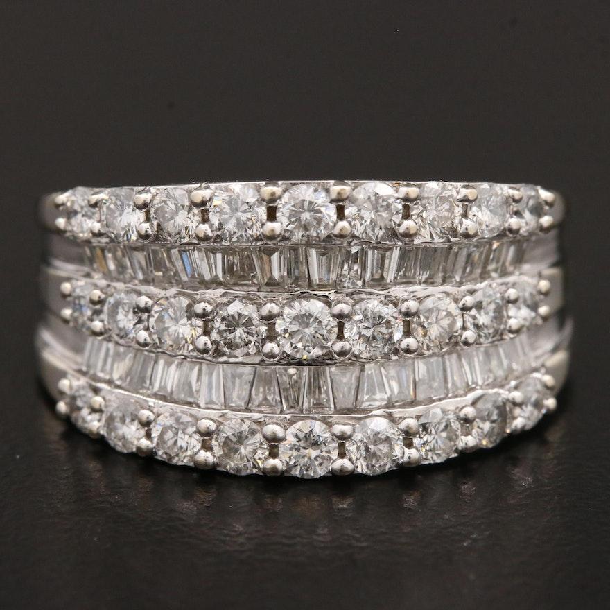 14K Gold 2.00 CTW Diamond Ring
