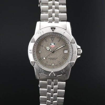 TAG Heuer Professional 200 Meters Stainless Steel Quartz Wristwatch