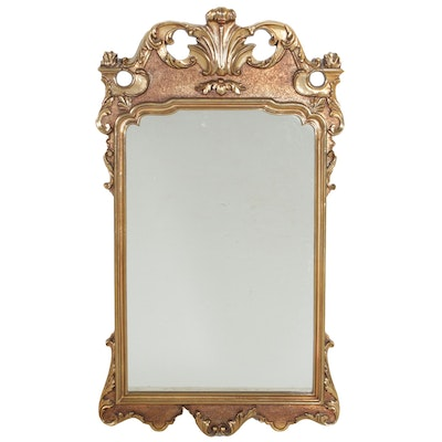 Neoclassical Style Gilt Wood Wall Mirror