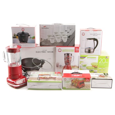 Chef's Counter and Other Kitchen Appliances, Tools and More