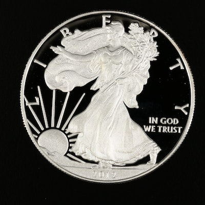 2012-S American Silver Eagle Proof Bullion Coin