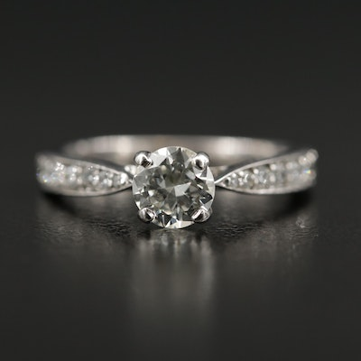 18K Diamond Hearts on Fire Ring