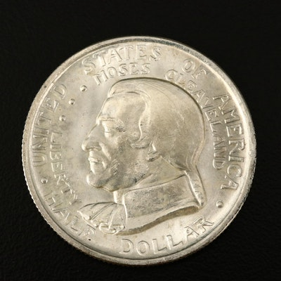 1936 Cleveland Commemorative Silver Half Dollar