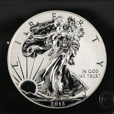 2013-W Reverse Proof American Silver Eagle Bullion Coin