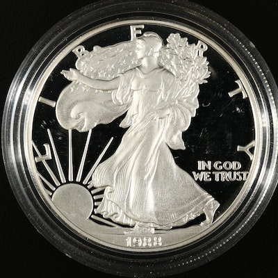 1988-S American Silver Eagle Proof Bullion Coin