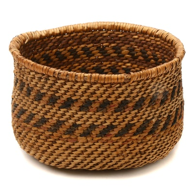 Native American Style West Coast Basket