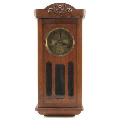 Largo-Gong Oak Wall Clock