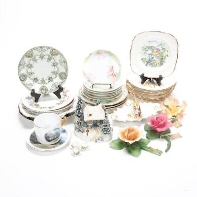 Assorted International Porcelain Collection