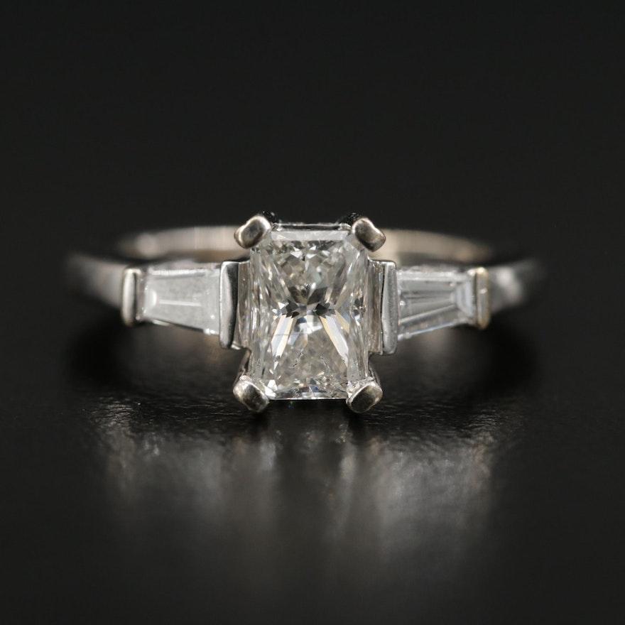 14K Gold 1.60 CTW Diamond Ring