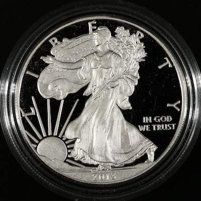 2013-W American Silver Eagle Proof Bullion Coin