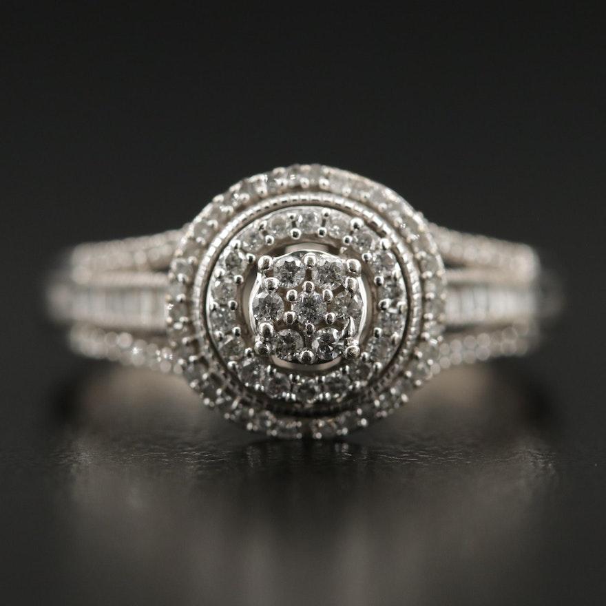10K Gold Diamond Ring