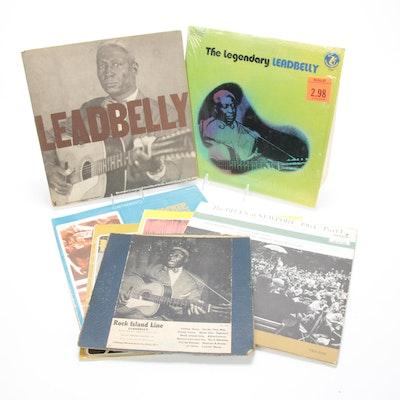 Leadbelly, Lightnin' Hopkins and Brownie & Sonny Vinyl Records