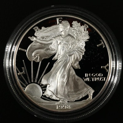 1998-P American Silver Eagle Proof Bullion Coin