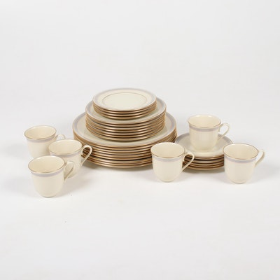 "Lenox ""Biltmore"" Bone China Dinnerware, Late 20th Century"