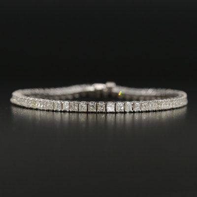 14K 4.47 CTW Diamond Line Bracelet