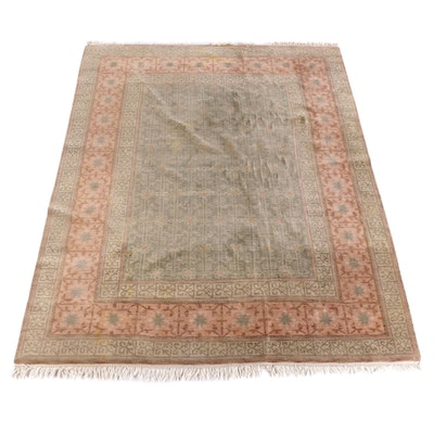 """9'3 x 12'10 Hand-Knotted Indian Pande Cameron """"Via Amrita"""" Wool Rug"""