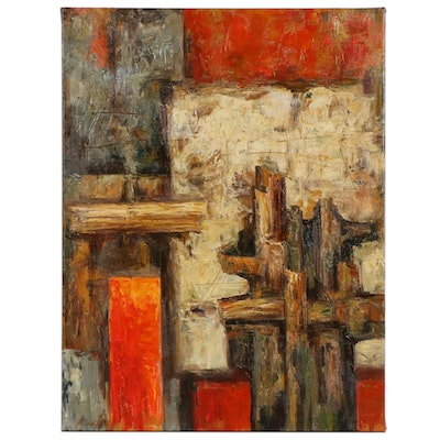 Abstract Composition Oil Painting