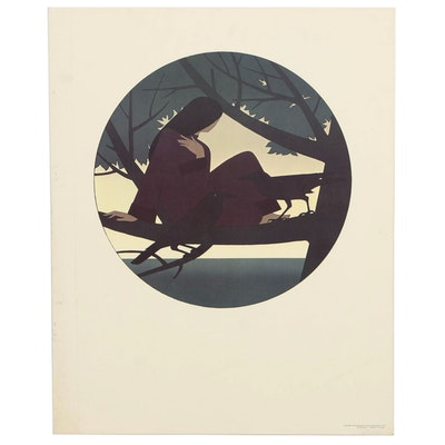 Offset Lithograph After Will Barnet, 1981
