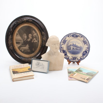 George Washington and Mt. Vernon Decor and Books