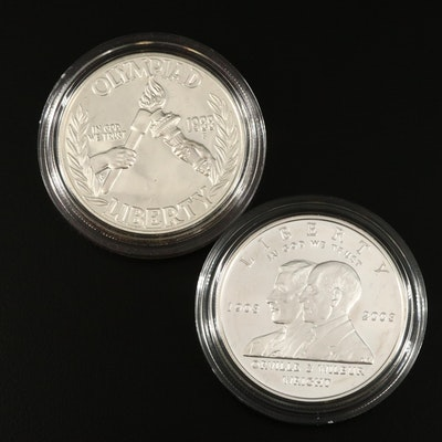 US Mint Commemorative Silver Dollars