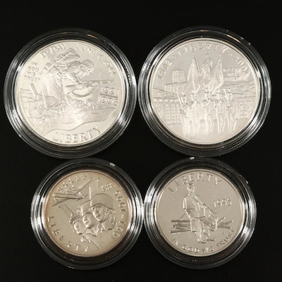 Three US Mint Commemorative Coin Sets