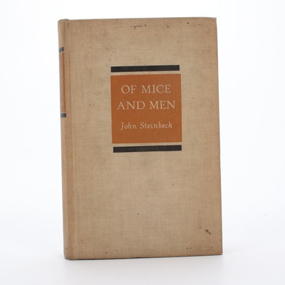 "1937 ""Of Mice and Men"" by John Steinbeck, Revised First Edition"