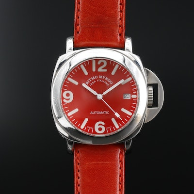 Ritmo Mundo Ponte Stainless Steel Automatic Wristwatch