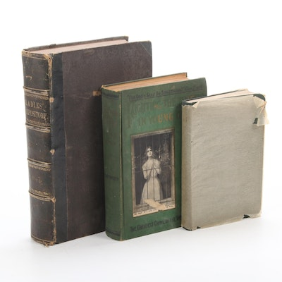 Women's Social and Spiritual Books, Antique