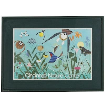 """Cincinnati Nature Center Poster after Charley Harper """"Summer"""""""