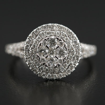 14K 1.01 CTW Diamond Ring