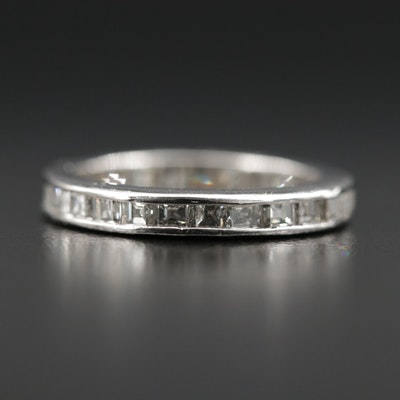 Platinum 1.28 CTW Diamond Eternity Band
