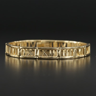 "Tiffany & Co. 18K ""Atlas"" Bracelet"