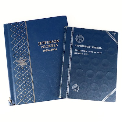 Two Jefferson Nickel Collections Including Key Dates
