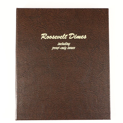 Collection of Roosevelt Dimes Including Proof Strikes