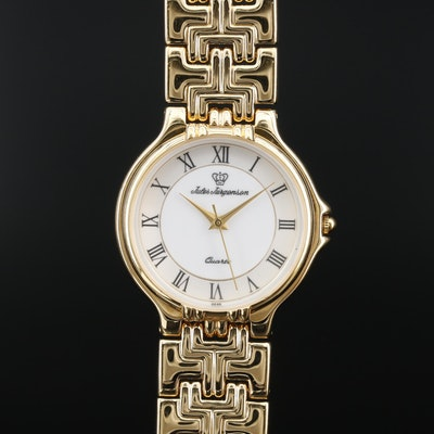 Jules Jurgensen Gold Tone Quartz Wristwatch