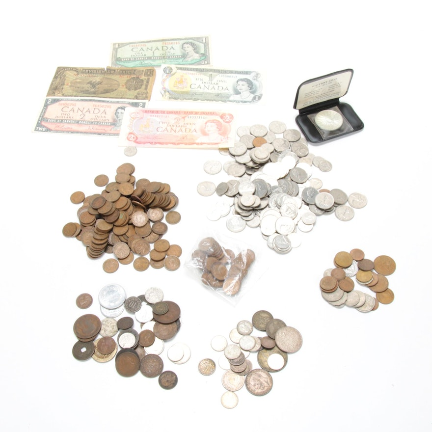 International Coin Collection, 1845-1980